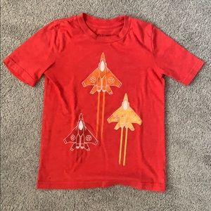 Jumping Beans Boys Size 6 Red Rocket T-shirt